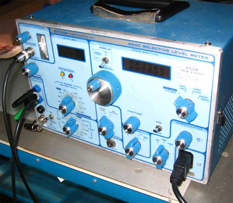 Figure 4:  Rycom 6040 used for LF and VLF monitoring.